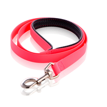 Simple Fashion Pet Product Waterproof PVC Dog Training Leash with Soft Padding