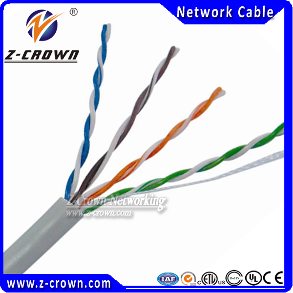 Ethernet Cable 4Pairs cat5e lan cable /indoor utp cat5e lan kabel