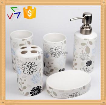 Ceramic bathroom accessory set buy ceramic bathroom accessory ceramic bathroom accessory - Find porcelain accessory authentic ...