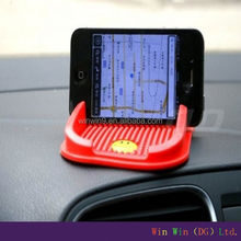 Best quality gel non slip mat for car/car accessories interior for mobile phone
