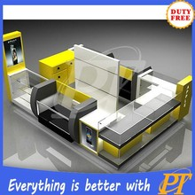 Shopping mall photo booth, mobile phone kiosk