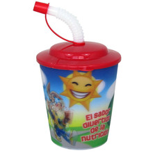 Alibaba Express Guaranteed Quality Unique Plastic Straw Cup 3D Lenticular