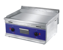 Industrial kitchen equipment of gas griddle