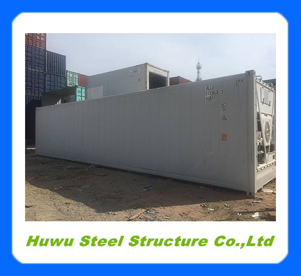Used 40 feet high cube reefer container in China