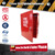 Red color factory price 1.2mm thickness fire proof cabinet for multipurpose