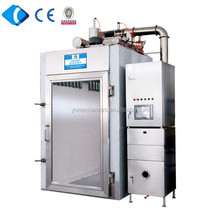 High quality Fish/sausage/ham/meat/chicken smokehouse , electric roaster, automatic smoke machine