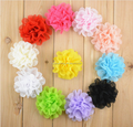 High Quality chiffon Artificial Flower , Craft Hair Decorative Flowers Wholesale hair accessories