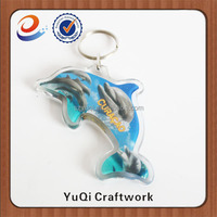 China cheap custom blank acrylic key rings / key chains / key fobs