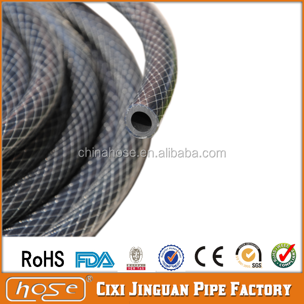 Black PVC High Pressure Air Hose for Car Air Inflator Pump