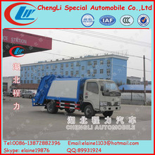 Dongfeng 5 ton garbage compactor truck