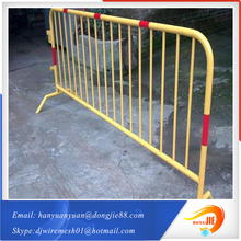 Pedestrian Barrier best security fencing mobile with fencing panels hot sale protection temporary fence