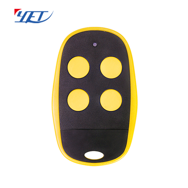 Keychain transmitter remote control for home garage automatic door opener