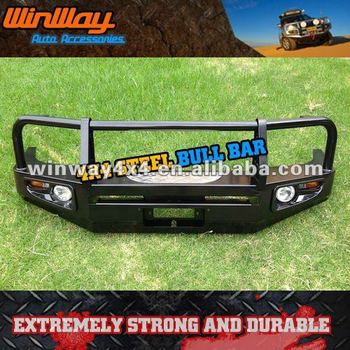 STEEL WINCH BULL BAR FRONT BUMPER FOR OFF ROAD