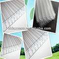 7 Layer X structure Polycarbonate Hollow PC Sheet