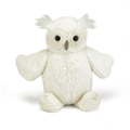 shenzhen factory custom stuffed animal white owl plush toy