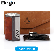 Hottest 200W Vape Mod Lost Vape Triade DNA200 Authentic Evolv DNA 200 Chip