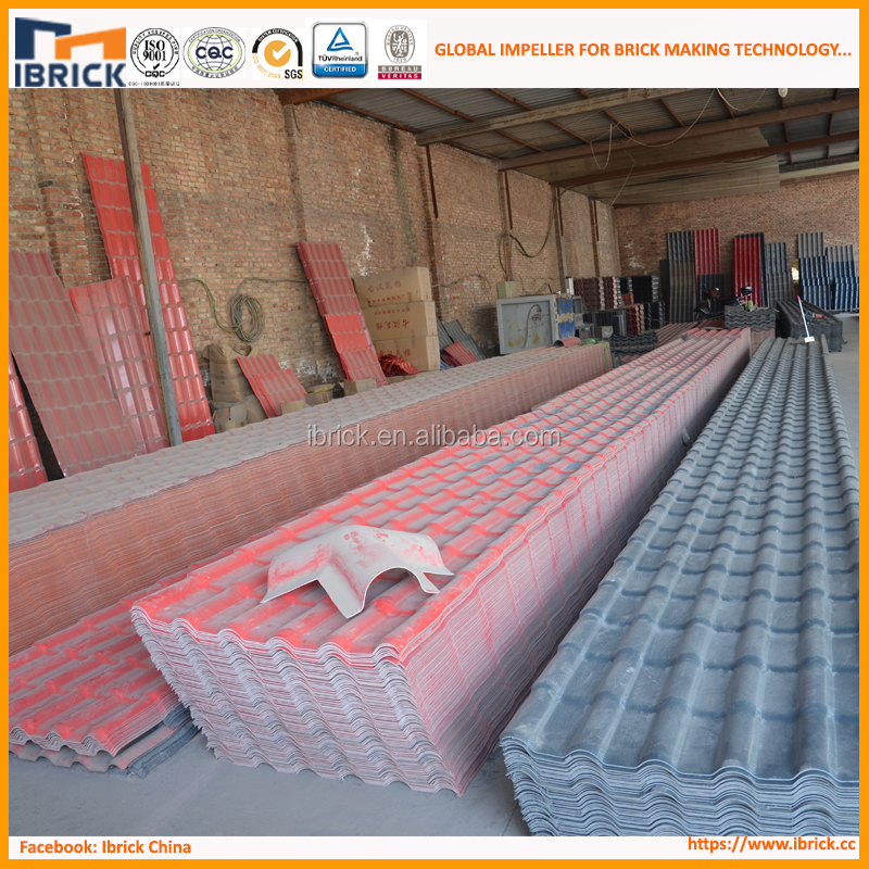 ISO Certificate Color Coated UPVC Corrugated Plastic Roof &Synthetic Resin Roofing Sheets