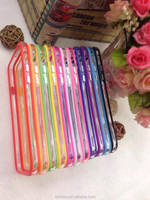 Cell Phone TPU + PC Mixed Hybrid Soft Border Frame Bumper Case for Samsung Galaxy S2 I9100 for S3 i9300