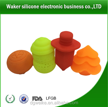 2017 Promotional Soft Touch Silicone Tea Infuser