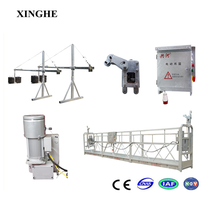 Building glass cleaning equipment/Steel suspended platform/800kg ISO standard