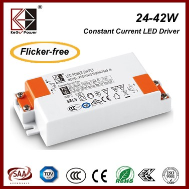 TUV, CE, SAA CB certificate KEGU 30W 700mA constant current led driver KEDH030S0700NR79A9