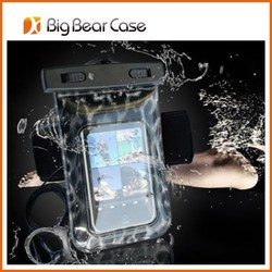 pvc waterproof bag waterproof case for asus zenfone 2