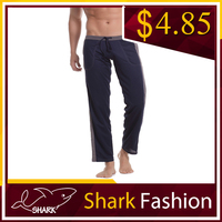 Shark Fashion latex sweatpants for man yoga pants with pocket