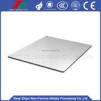 99.95%Tungsten scrap sheet plate for sale from china factory