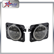 New Design Auto Fog Lamp,Car LED Fog Lamp 4 Inch With DRL Led Fog Lamp For Jeep Wrangler Offroad Truck Hummer 4X4WD