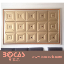 Fire Resistance Embossed wall decoration 3d board
