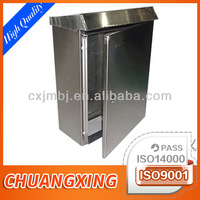 ChuangXing custom bespoke sheet metal powder coated Electrical tool handle Housing casing box chest forming fabrication factory