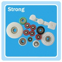 Aluminum window accessories Nylon/PU/Pom roller with high quality