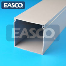 PVC Trough Solid Type for Cable Runs by EASCO