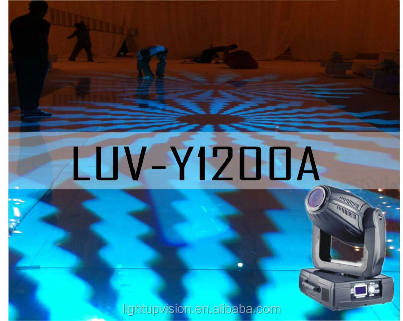 Hot!!! 1200W Stage Light Led Moving Head/Robe moving head (LUV-Y1200A)