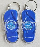 2015 Plastic Key Chain Craft For Shoes Shape