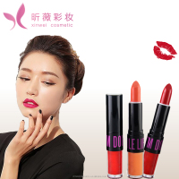 Double sides lip / one side lipgloss one side lipstick