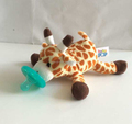 Pacifier With Plush Toy / Plush Pacifier / Plush Toy Pacifier/Plush Animal Baby Pacifier Toy