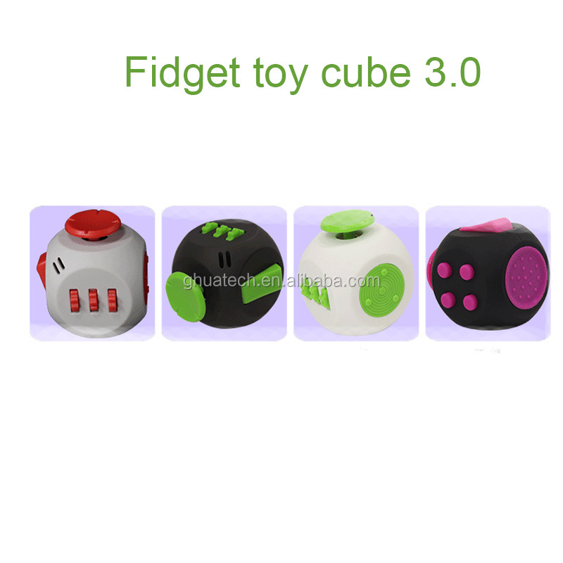 9 color 2017 New Fidget cube camouflage fidget spinner the world's first American decompression anxiety <strong>Toys</strong>