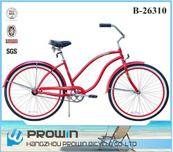 "Australia market 26"" custom beach cruiser bicycles, beach cruisers for sale (PW-B26310)"