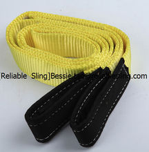 2016 Webbing Sling Type and Flat Eye Lifting Eye Type nylon webbing sling