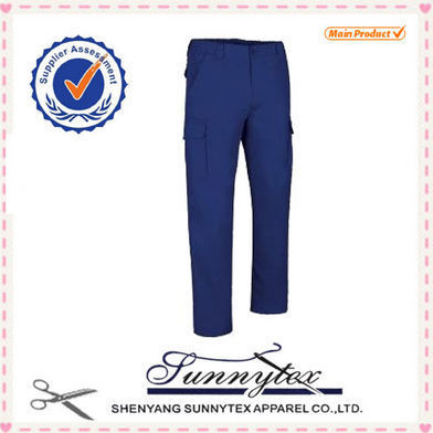 trousers polyester cotton cheap casual mens chino pants