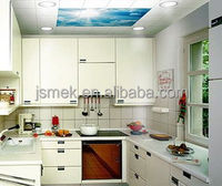 Attractive durable and environmental friendly kitchen wall coating