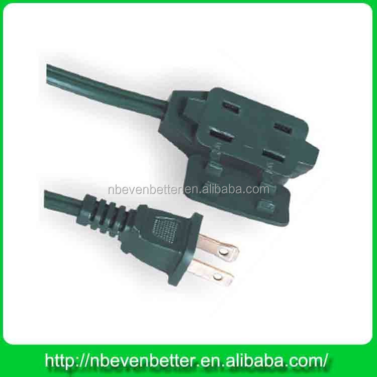 Germany type home 14 gauge extension cords