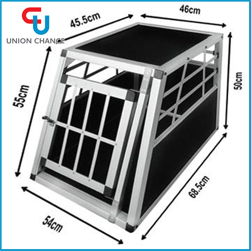 Big Aluminum Travelling Dog Cage High Quality Pet Carrier Aluminum Transport Dog Cage