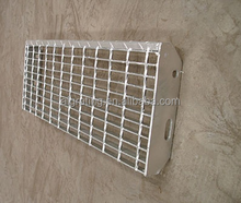 high quality anti-slip floor grating stair treads