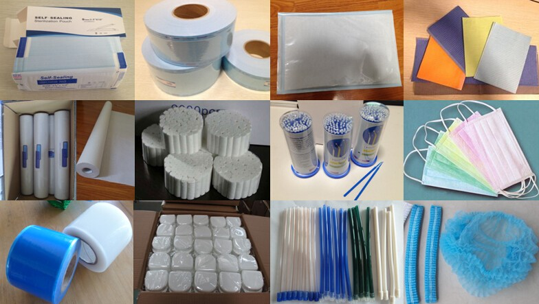 High quality disposable dental bibs