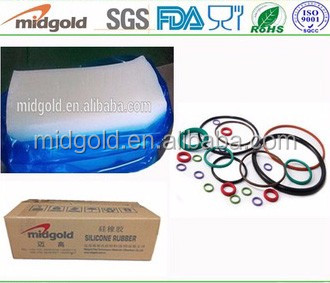 Midgold HTV/HCE raw material silicone rubber for seal and tube