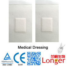 Breathable Sterile Medical Dressing Infusion Solution