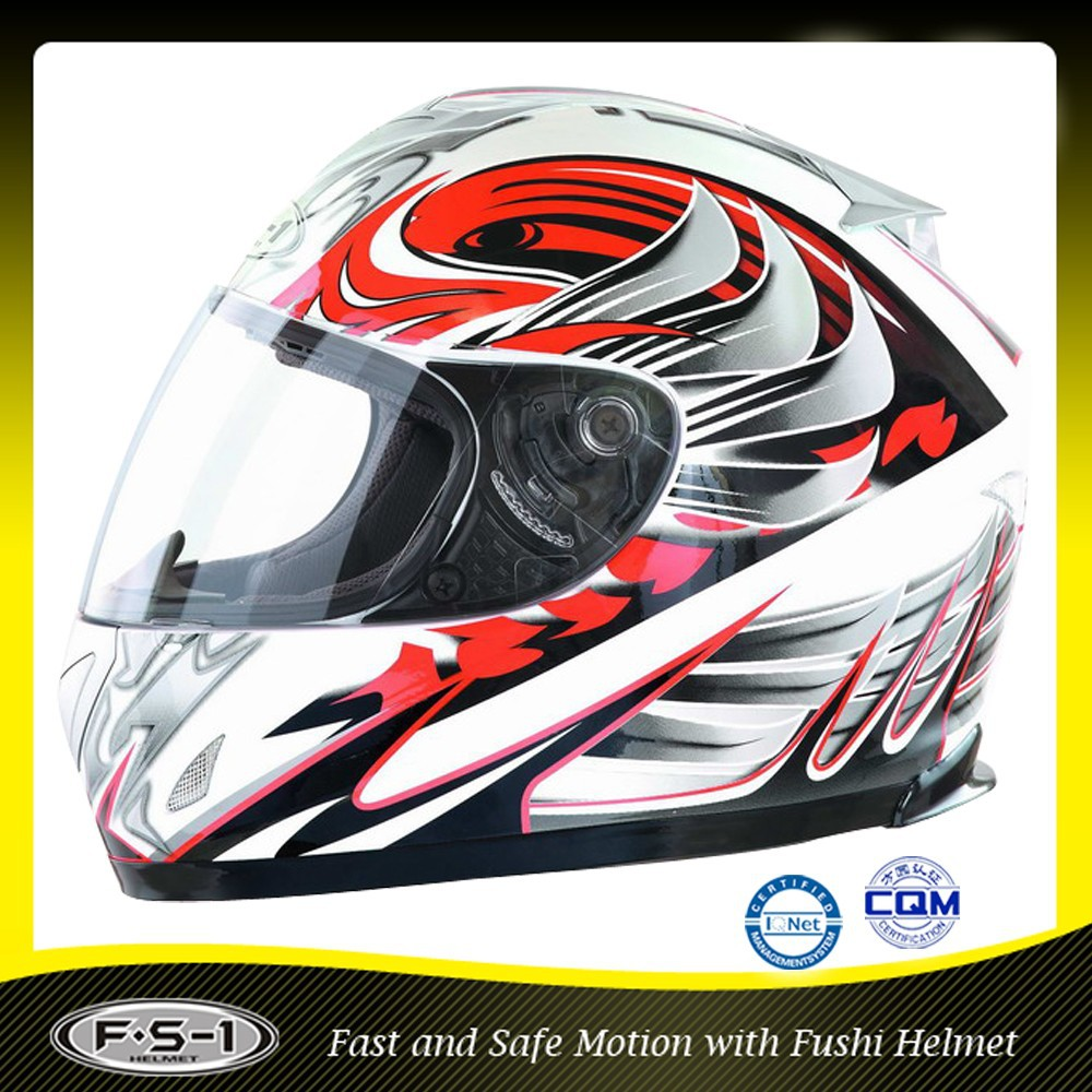 CE FUSHI High density EPS personalized motorcycle helmets superman motorcycle helmet