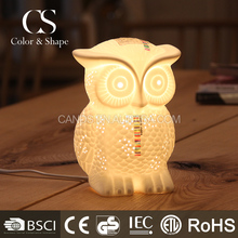 Manufacturer's animal shaped owl table lamp with low price